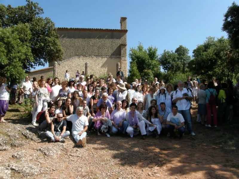 First Worldwide Lemurian  Reactivation Ceremony  Montserrat (Barcelona, Spain)  June 21, 2009