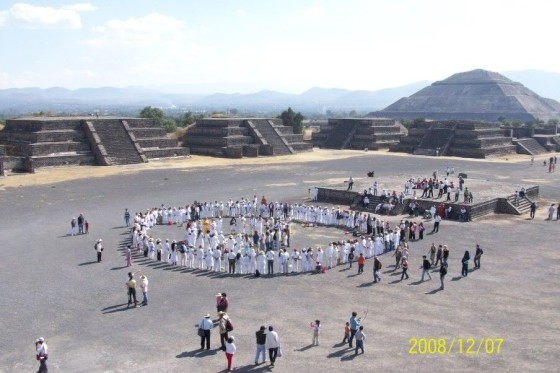 Lemurian Reactivation Ceremony, TEOTIHUACAN, December 7th, 2008